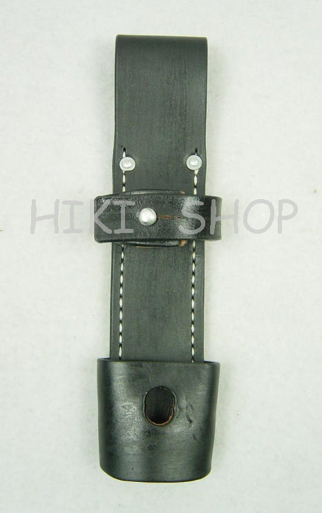 WWII German 98K Bayonet Leather Frog Late Type